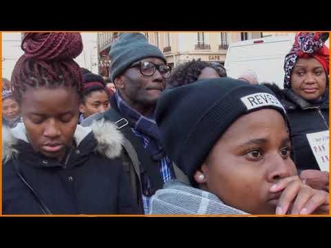 Noirs, fiers et libres : manif à Lyon contre l'esclavagisme