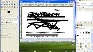 Инструменты и возможности рисования в GIMP. Ч.1