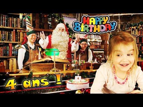 Happy birthday messages - Le Père Noël a envoyé un message personnalisé à Ellie pour son anniversaire ! 4 ans ! Happy Birthday