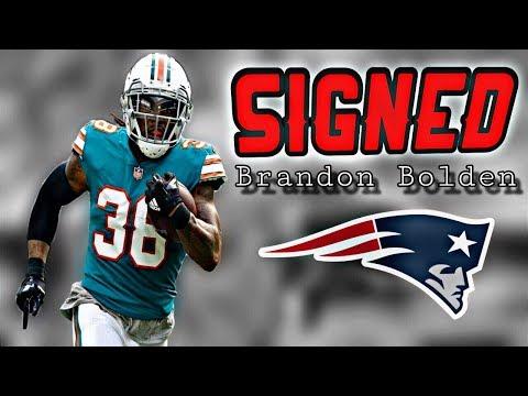 Patriots Sign RB Brandon Bolden