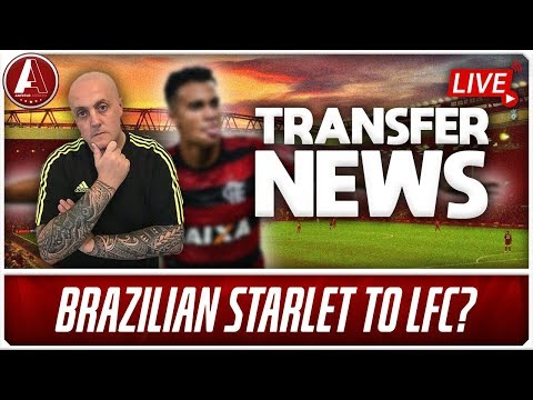 LIVERPOOL LINKED WITH BRAZILIAN STARLET | LFC Transfer News & Chat Show
