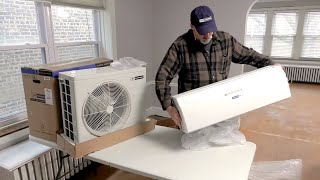 How to Install a Ductless Mini-Split Air Conditioner - Blueridge