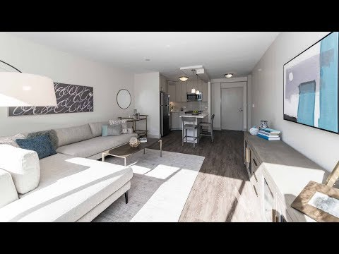 A 1-bedroom model at the newly-updated River North Park