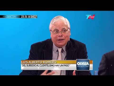 """Luis Alberto Romero entrevistado en """"Odisea Argentina"""" – 21/09/2015"""