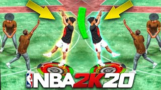 MY DEMIGOD BUILD SHOOTS NOTHING BUT GREENS ON NBA 2K20! BEST JUMPSHOT + BUILD NBA 2K20!