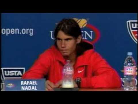 全米オープン Rafael ナダル Press Conference 9.03.08
