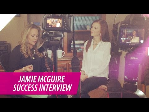 Jamie McGuire | How to Become a Successful Self Published Fiction Author | with Kelsey Humphreys