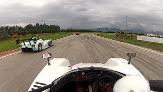OnBoard Radical SR4 on Track