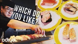 Cheap vs. Expensive Sushi in Tokyo, Japan  [Odigo Eats]
