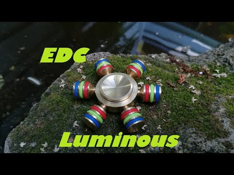 EDC Luminous Spinner