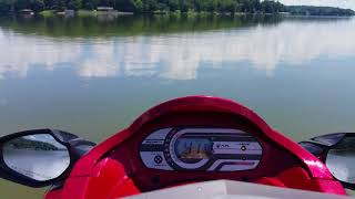10. Yamaha Waverunner VX Cruiser *L-mode* Top Speed/ Acceleration
