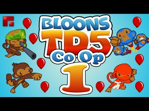 Bloons TD 5 iPhone Co-op Mode - Ep.1