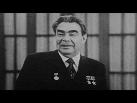 Краткая биография генсека Брежнева. Архивные кадры