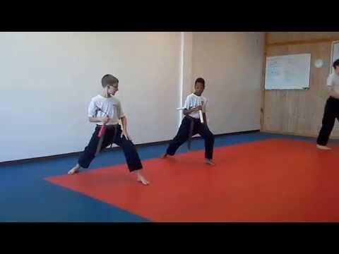 Hampton's Karate Academy - Nunchucku Practice 02