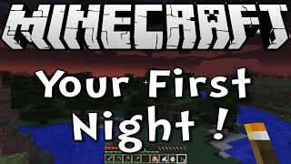 Minecraft 1.8 Tutorial - How to Survive your First Night - Survive&Thrive Season 8