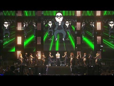 PSY演唱會現場氣氛超熱烈~歌迷一起合唱讓江南大叔HIGH到最後竟然?!