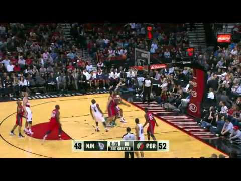 New Jersey Nets 88 – Portland Trail Blazers 101