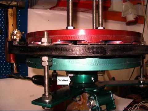 Opis trofaznog axijalnog alternatora za vetrenjace