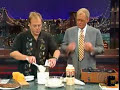 Alton Brown on Letterman