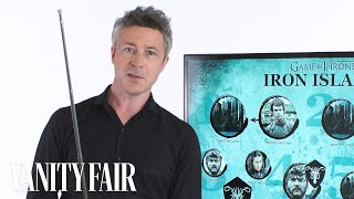 Aidan Gillen, who plays Lord Petyr Baelish, popularly called Littlefinger, recaps season six of Game of Thrones in under five ...