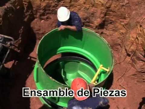 rotomoldeo - Producción de manholes para alcantarillados http://www.rotoplast.com.co/
