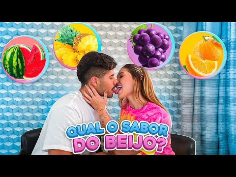 QUAL O SABOR DO BEIJO?! (BALA)