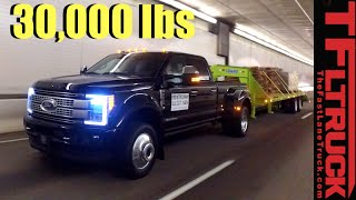 2017 Ford F-450 Super Duty vs. Super Ike Gauntlet Review: Midnight Edition by The Fast Lane Truck