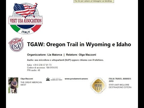 Video TGAW - Oregon Trail in Wyoming e Idaho (23-05-2019)