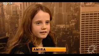 Amira Willighagen - Interview Day Before Finals Holland's Got Talent 2013