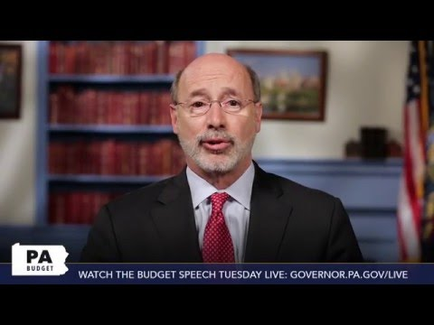 Gov. Wolf addresses the PA Gridlock