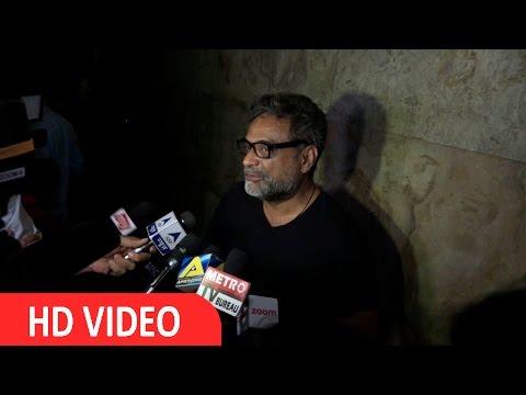 Director  R. Balki At Screening Of Film Udta punjab