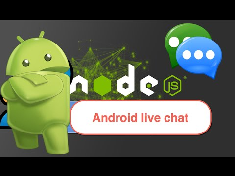 139-  Android live chat || بناء تطبيق دردشة للهاتف