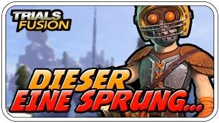 DIESER EINE SPRUNG... - TRIALS FUSION - Let's Play Trials Fusion  - Dhalucard