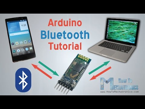 Arduino and HC-05 Bluetooth Module Tutorial | Android Smartphone & Laptop Control