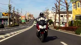 9. BMW・C650GT 試乗.mpg