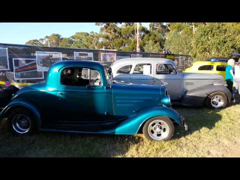 Classic Cars at Route 66 Clipsal 500 Adelaide