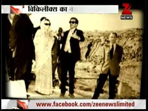 Zee News :Shocking truth about US Spy in Indira Gandhi's Home ??