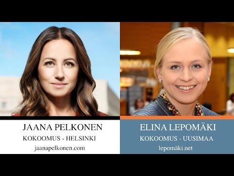 Elina Lepomäki ja Jaana Pelkonen - Järkeä alkoholipolitiikkaan! tekijä: eDecanus