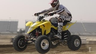 4. 2008 Suzuki QuadRacer LT-R450 First Ride - MotoUSA