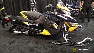 7. 2016 Ski Doo MXZ Blizzard 800R E-Tec Sled - Walkaround - 2015 St Hyacinthe ATV Show