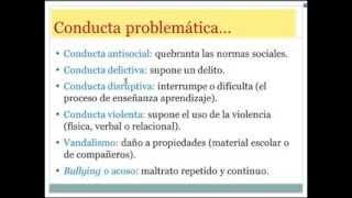 Umh0094 2013-14 Lec015 Unidad 5. Desarrollo Problemas Conducta. Parte 1