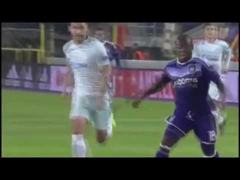 Anderlecht vs Zenit St. Petersburg 2-0 Maç özeti 16/02/2017