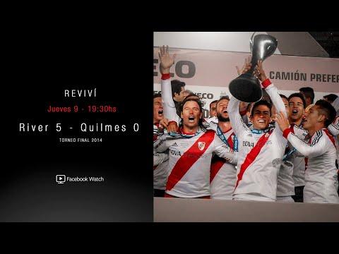 RIVER VS. QUILMES - TORNEO FINAL 2014 [PARTIDO COMPLETO]