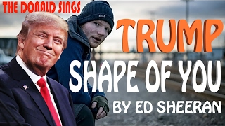 Video Donald Trump Singing Shape of You by Ed Sheeran download in MP3, 3GP, MP4, WEBM, AVI, FLV Februari 2017