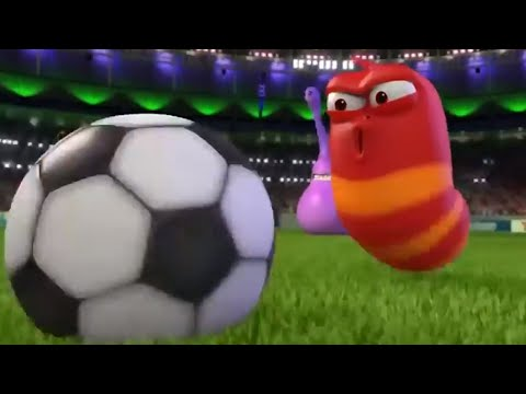 LARVA -THE GAME | Larva World Cup | Cartoons For Children | Larva Cartoon | LARVA Official