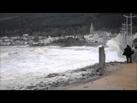 Tidal Surge Newcastle County Down 3.1.14