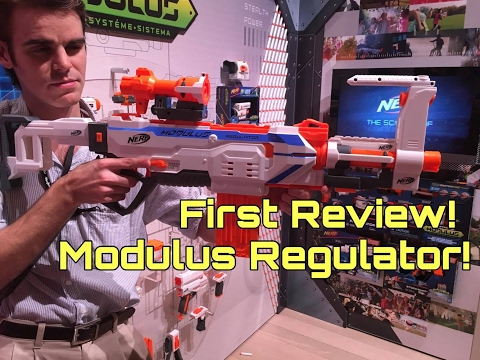 First Review: Nerf Modulus Regulator from NYTF 2017