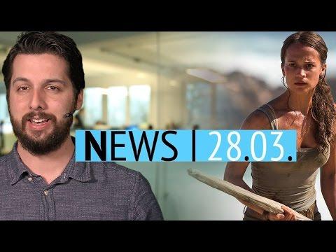 Neuer Tomb-Raider-Kinofilm - Destiny 2 offiziell angekündigt - News