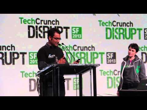 SAP HANA Hacker of the Year Award presentation (TechCrunch Disrupt SF 2013 Hackathon)