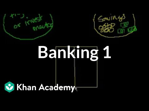Banking - Learn more: http://www.khanacademy.org/video?v=E-HOz8T6tAo Introduction to how banks make money and the value they (potentially) add to society.